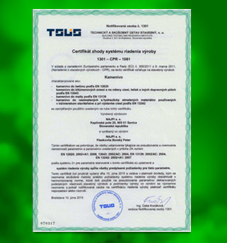 certifikat TSUS